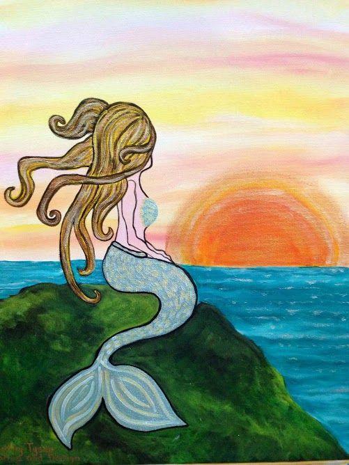Mermaid Wine Design Painting Ideas Wine Design Painting Ideas