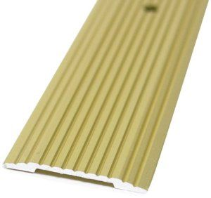 M D Building Products 79095 Wide Fluted 1 1 4 Inch By 72 Inch Seam Binder Satin Brass By M D Building Product M D Building Products Vinyl Flooring Satin Brass