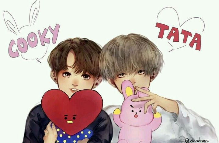 BTS Cartoon Photos [Fanart] in 2020 (With images)