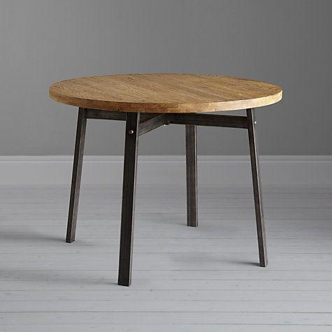 john lewis calia round dining table dark side table. Black Bedroom Furniture Sets. Home Design Ideas