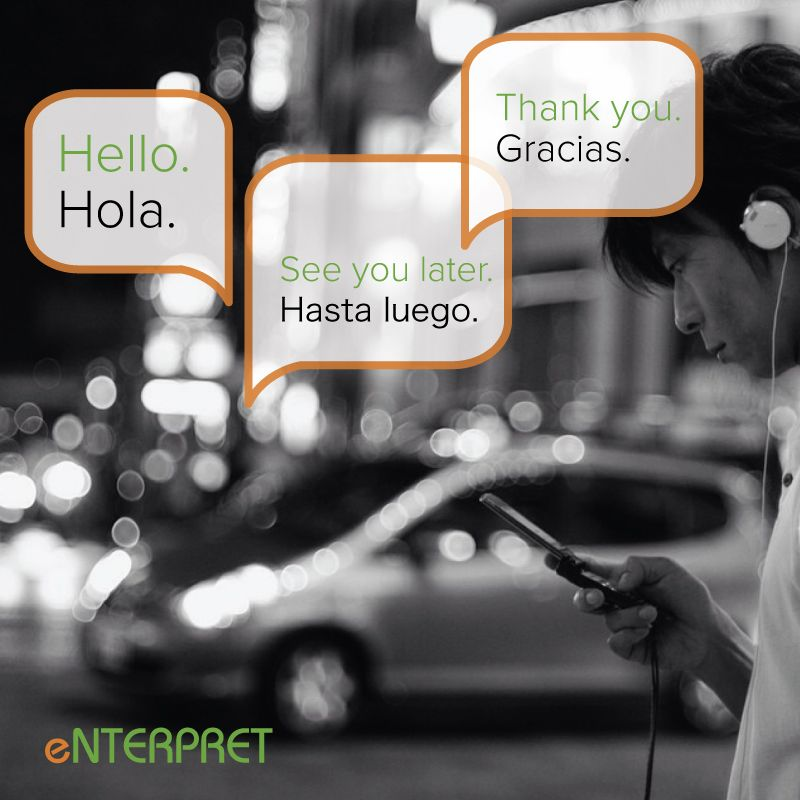 Make a connection with Enterpret. #interpretation #interpret #spanishlanguage