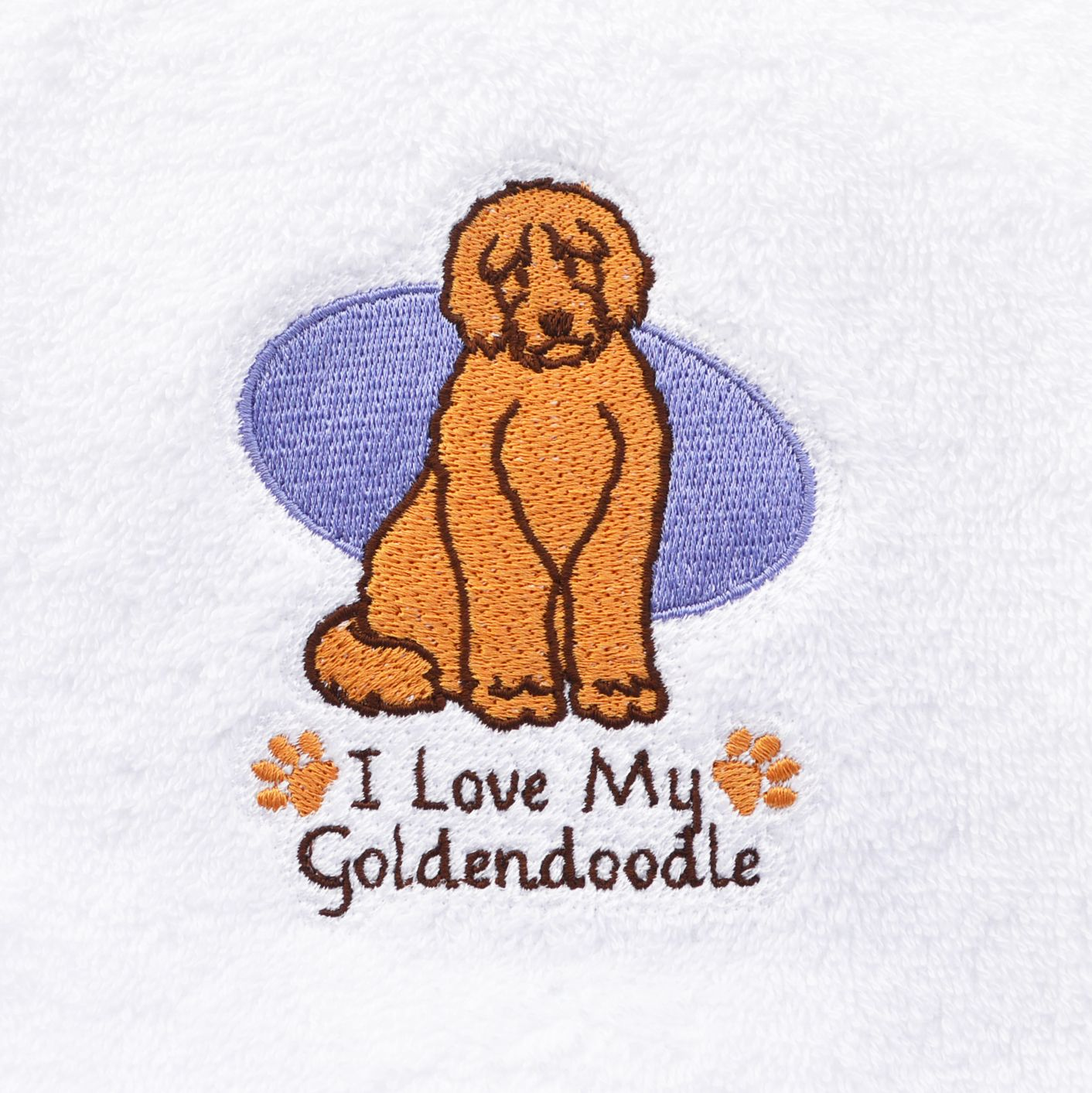 """""""Oh So Golden...Doodle, that is!"""" Towels"""