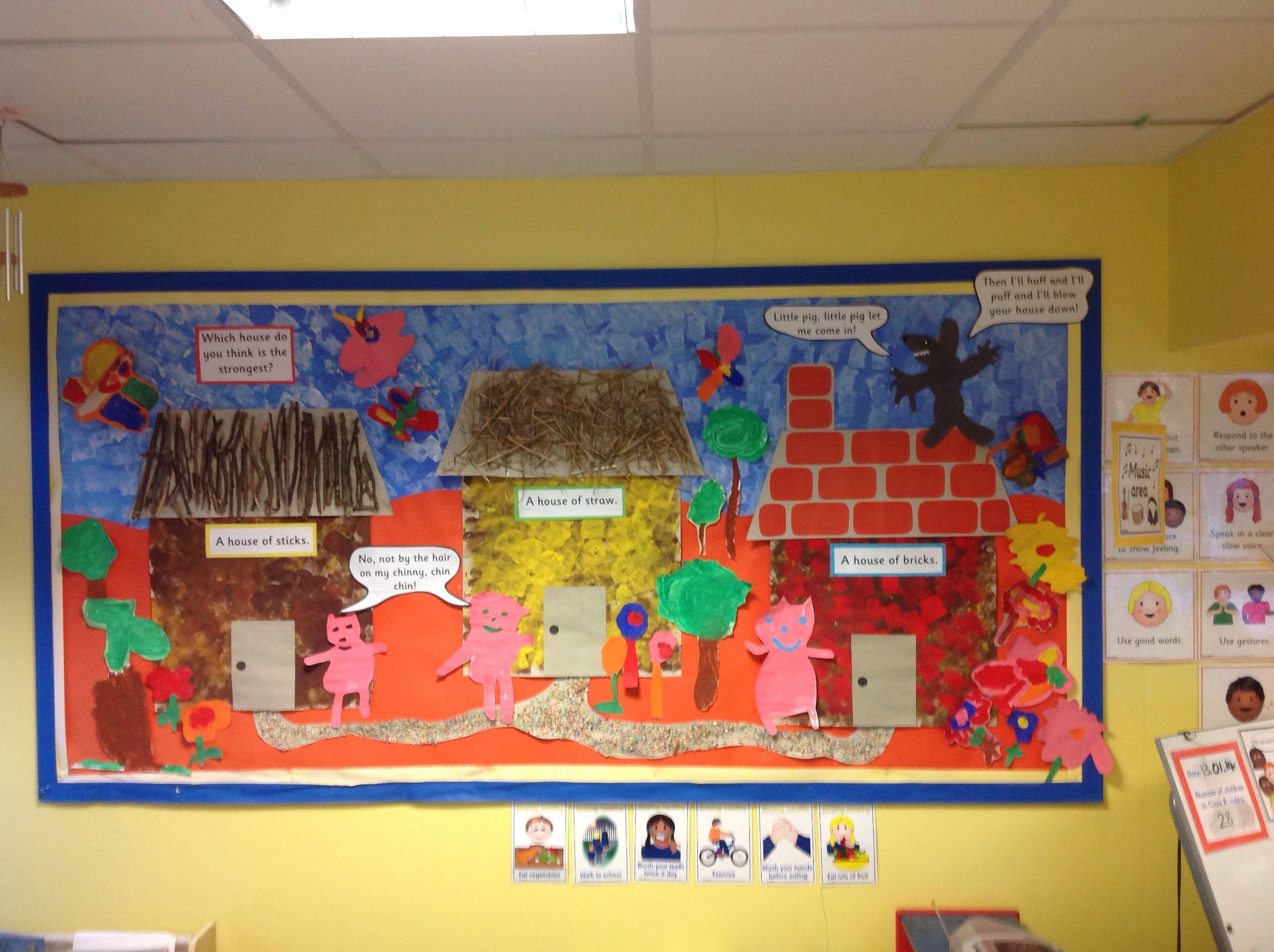 Craft Ideas Pre School Buildings