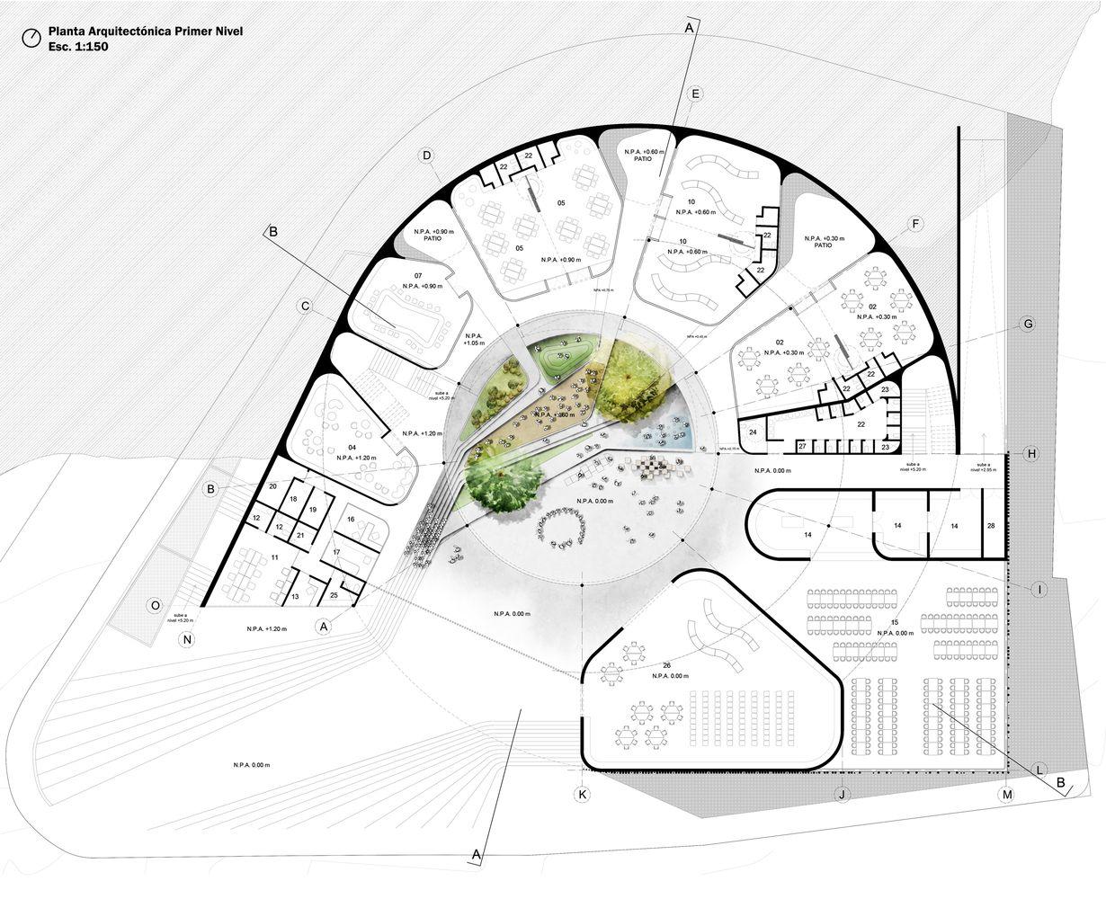 Galer a de arquitectura y espacio urbano primer lugar en for Jardin infantil