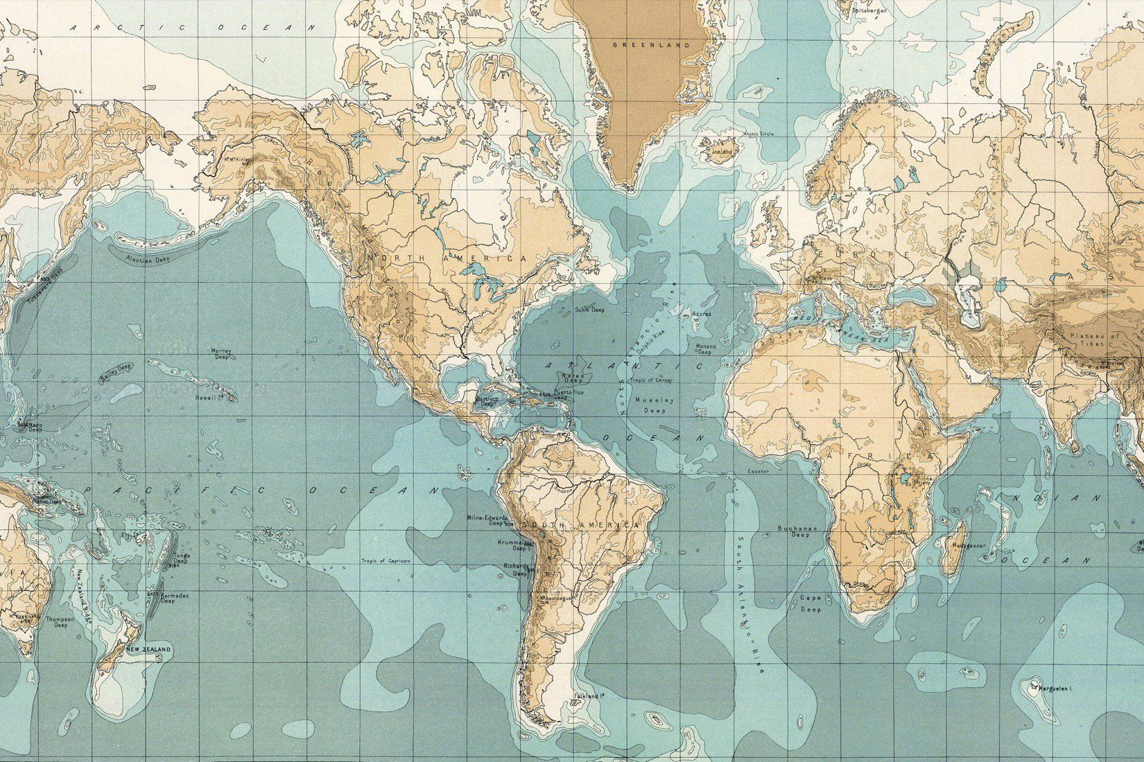 Vintage Nautical Map Wallpaper Vintage Map Mural Muralswallpaper Map Wallpaper Color World Map Vintage Maps