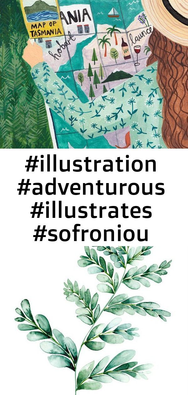 2 Soul Illustrates The Wild Beauty Found Around the World Painted illustration by Miranda SofroniouPainted illustration by Miranda Sofroniou Fern digital watercolour prin...