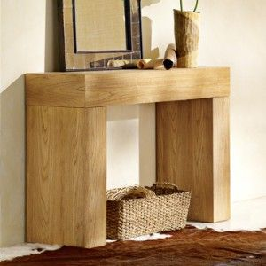 chunky console table west elm Shop home Kaboodle Art for my