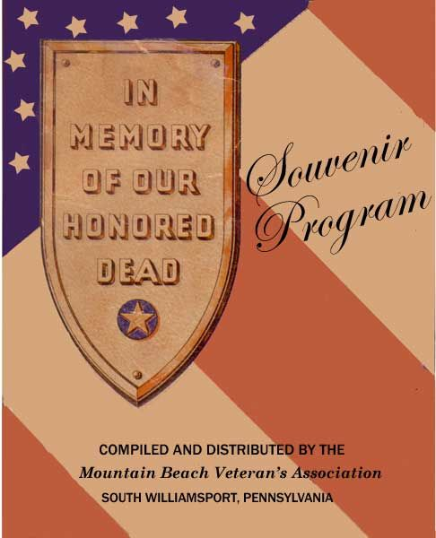 Virtual World War II Memorial In Memory of Our Lycoming County Honored Dead a permanent virtual monument to the 341 Lycoming County, PA fighting men and women who gave their lives in World War II. Read more about this virtual monument.