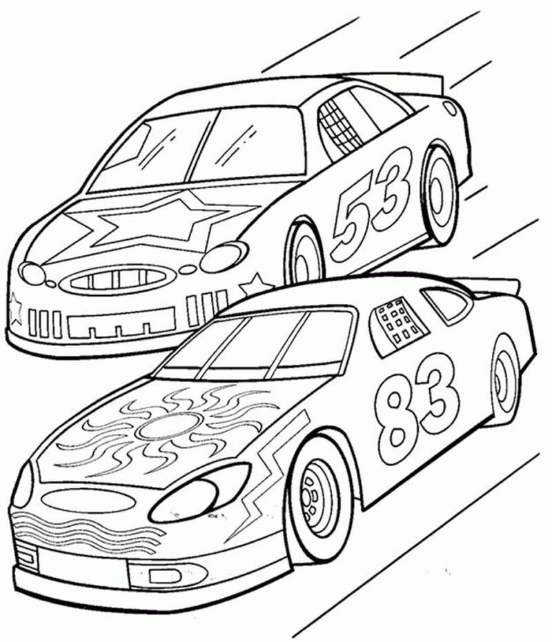 Printable Nascar Coloring Pages To Print In 2020 Race Car Coloring Pages Cars Coloring Pages Truck Coloring Pages