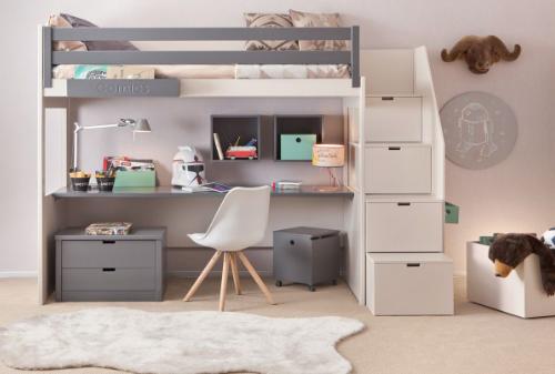 Lit Mezzanine Ikea Pour Fille Lit Lit Mezzanine Enfant Chambre