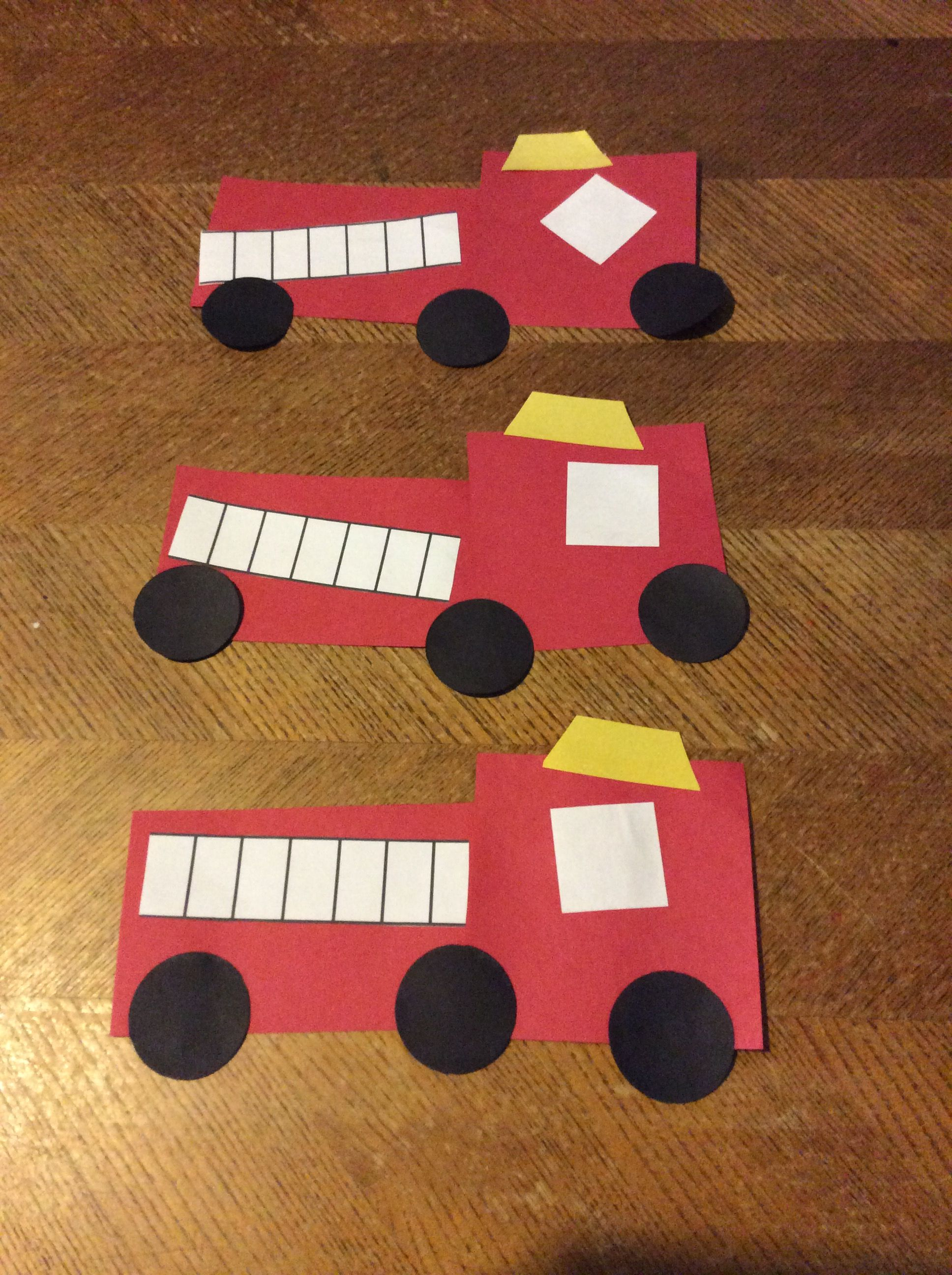 Shapes Fire Truck