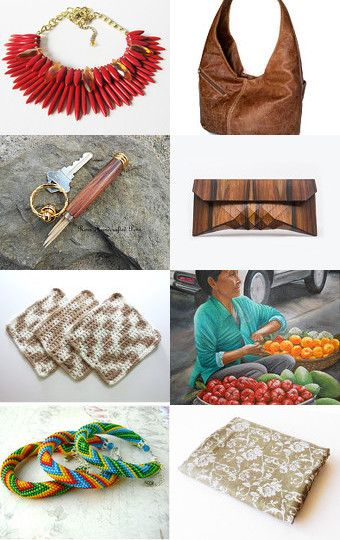 Unique and cool finds by Faby Galaz and Hugo Gallegos on Etsy--Pinned with TreasuryPin.com