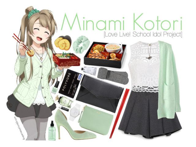 """Minami Kotori [Love Live! School Idol Project]"" by ibuperisesat ❤ liked on Polyvore featuring Zara, Ally Fashion, Chinese Laundry, Zad, Accessorize, Rebecca Minkoff, maurices, philosophy, Swatch and Chapstick"