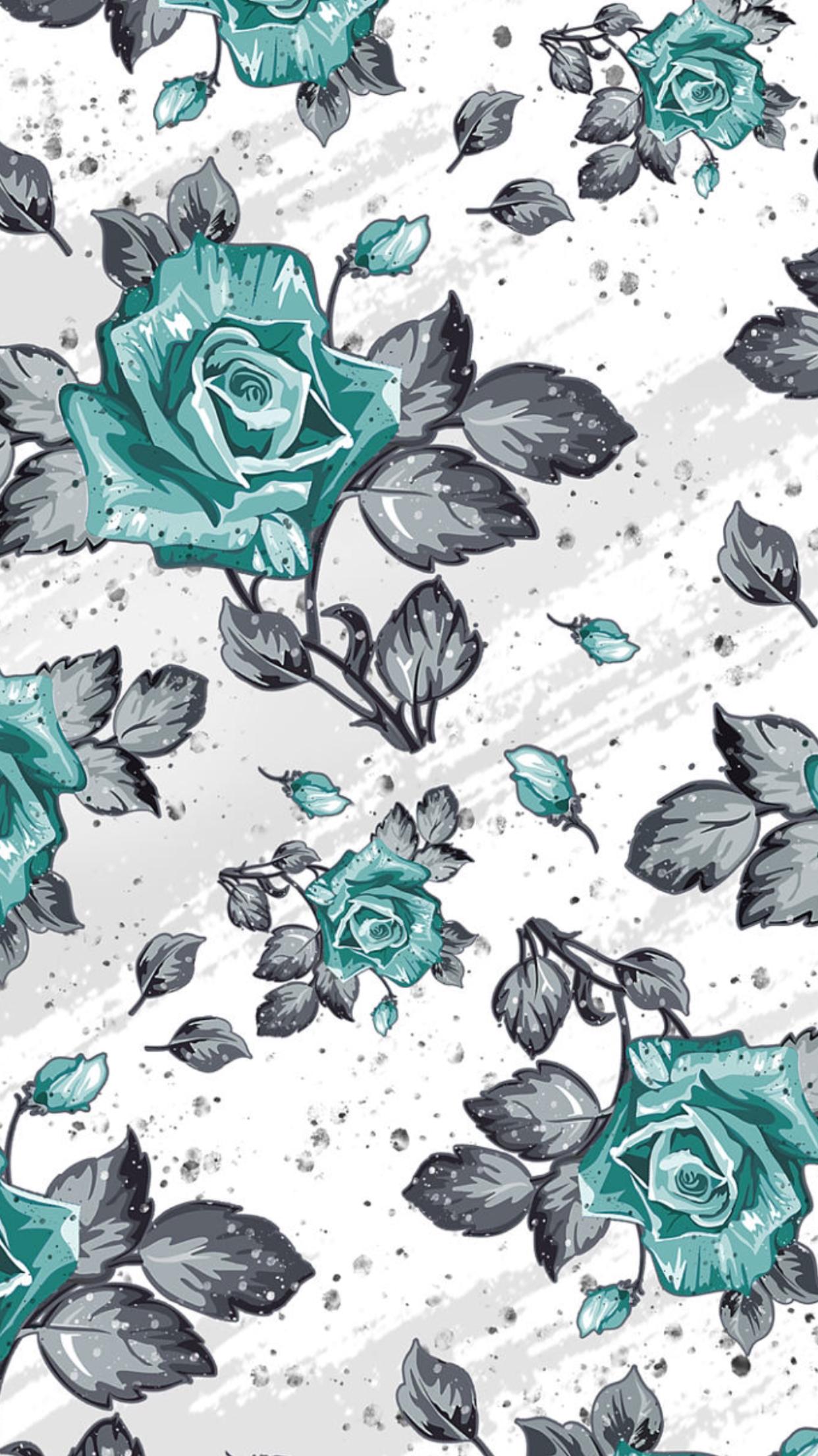 Que Fofinho E Simples Brasil Floral Wallpaper Pattern Wallpaper Art Wallpaper