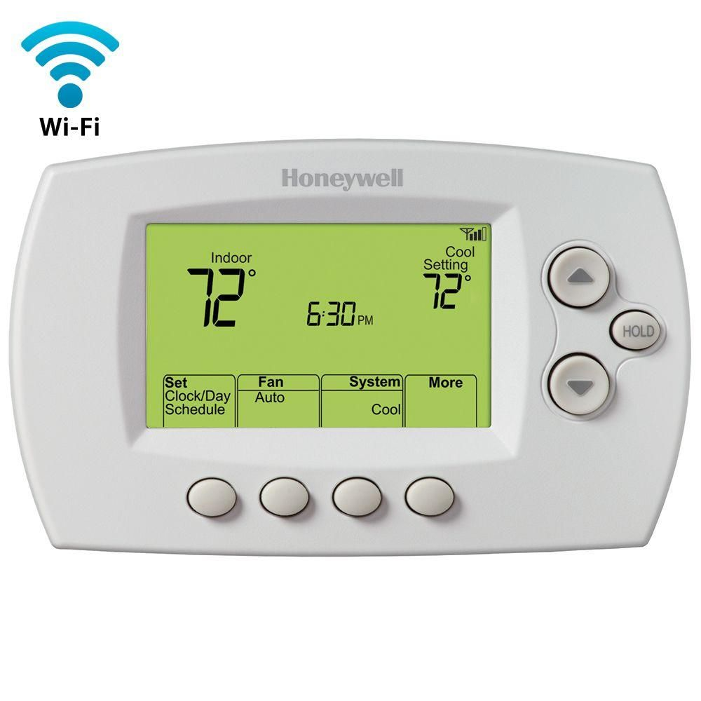 Honeywell Home Wi Fi 7 Day Programmable Thermostat Free App