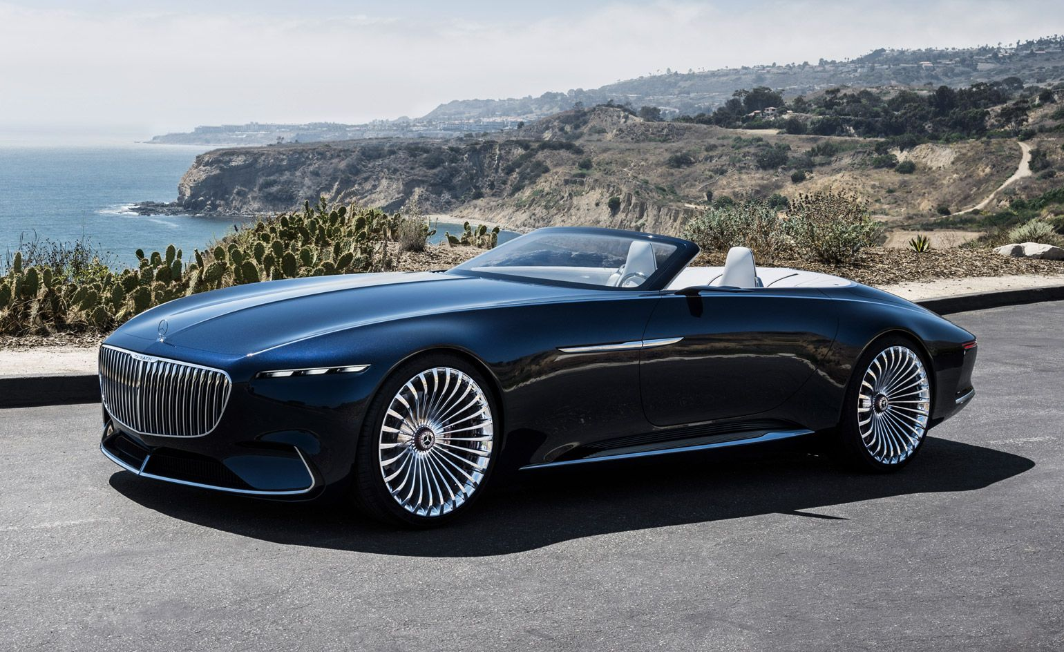 The New Reality Mercedes Maybach Unveils The Super Luxury Electric