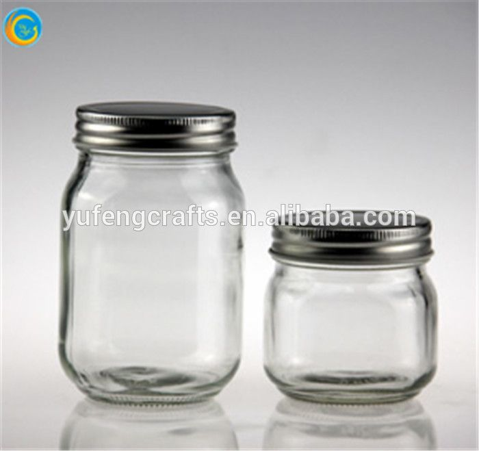 Eco Glass Canning Jars With Silver Lid Wholesale , Find Complete Details  About Eco Glass Canning Jars With Silver Lid Wholesale,Glass Canning Jars,Glass  Jar ...