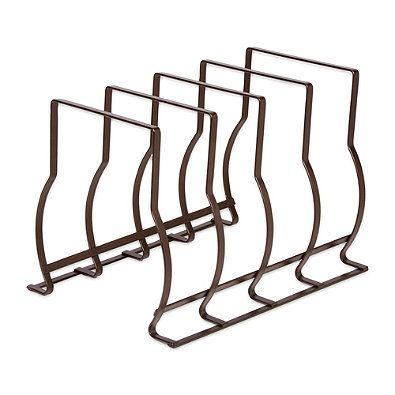 10.13-Inch Bakeware and Lid Storage Rack in Bronze