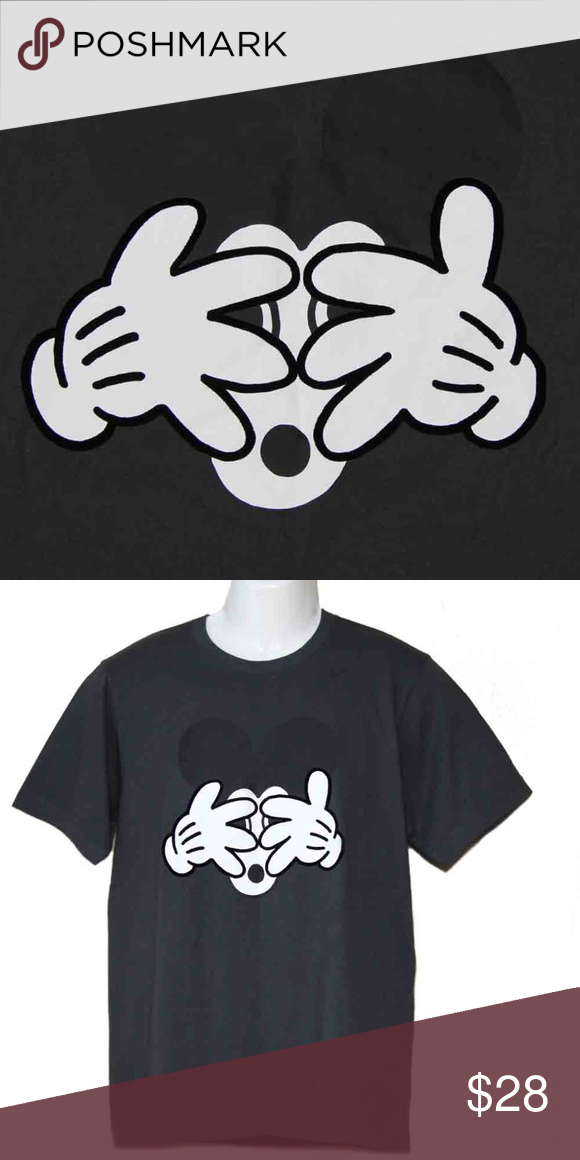 7c860bb864 Uniqlo Disney Geoff McFetridge Mickey T-Shirt SZ L Men s new Uniqlo Geoff  McFetridge Mickey