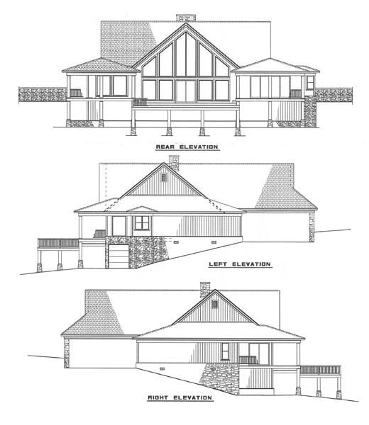 nelson design group | house plans|design services » waterfront cove