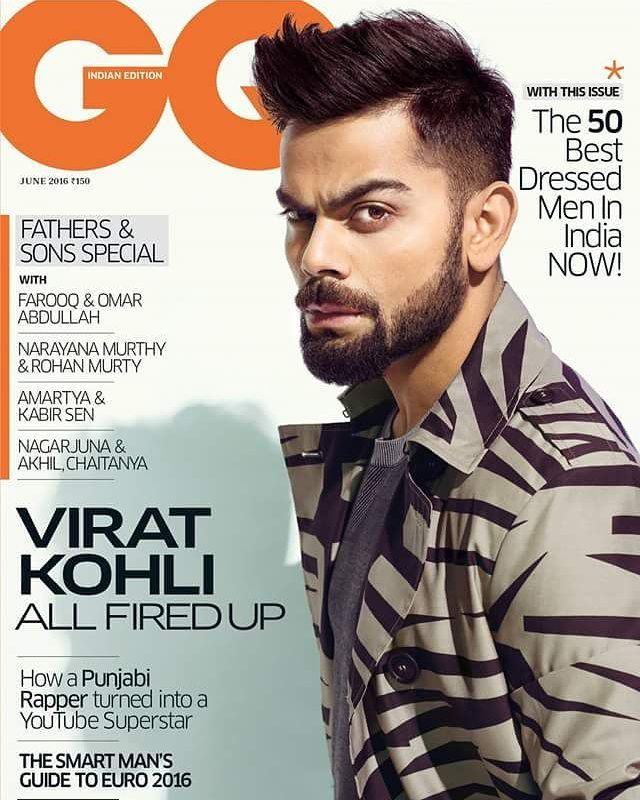 Virat Kohli on the cover of GQ India magazin. June 2016 Edition. @filmywave #ViratKohli #GQIndia #GQMagazine #magazinecover #bollywoodmagazines #celebritymagazine #magazine #magazineshoot #covershoot #photooftheday #celebrity #photoshoot #bollywood #cricketer #indiancricketer #coverboy #picoftheday #instapic #instadaily #instagood #instalike #filmywave