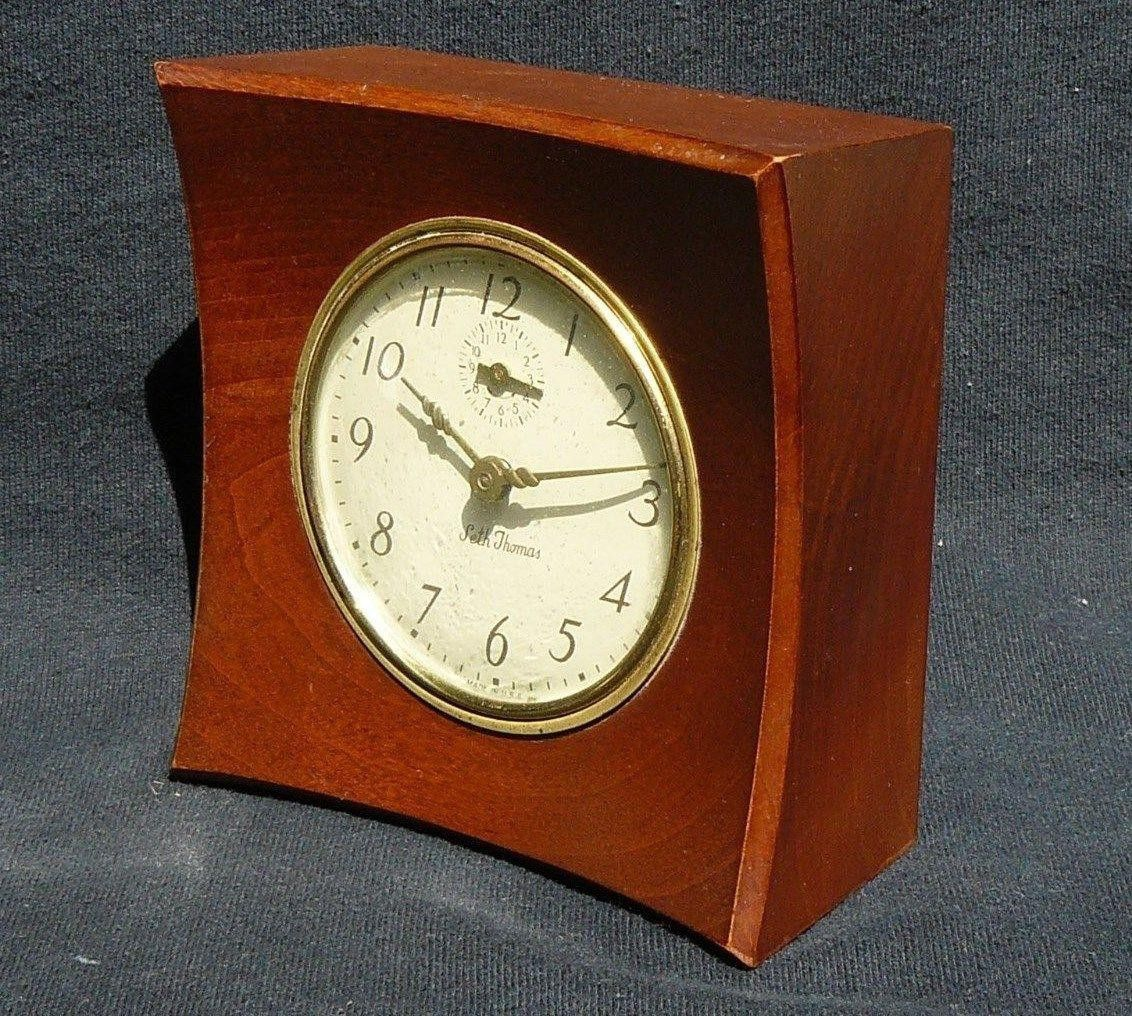 A Gustavian style mantle clock, signed C.A.