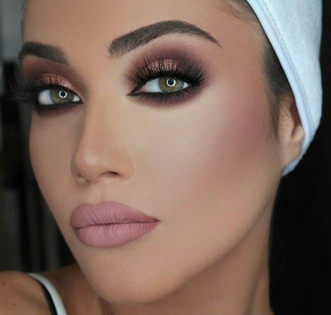 makeup ideas | eye makeup | lips | make up for brown eyes