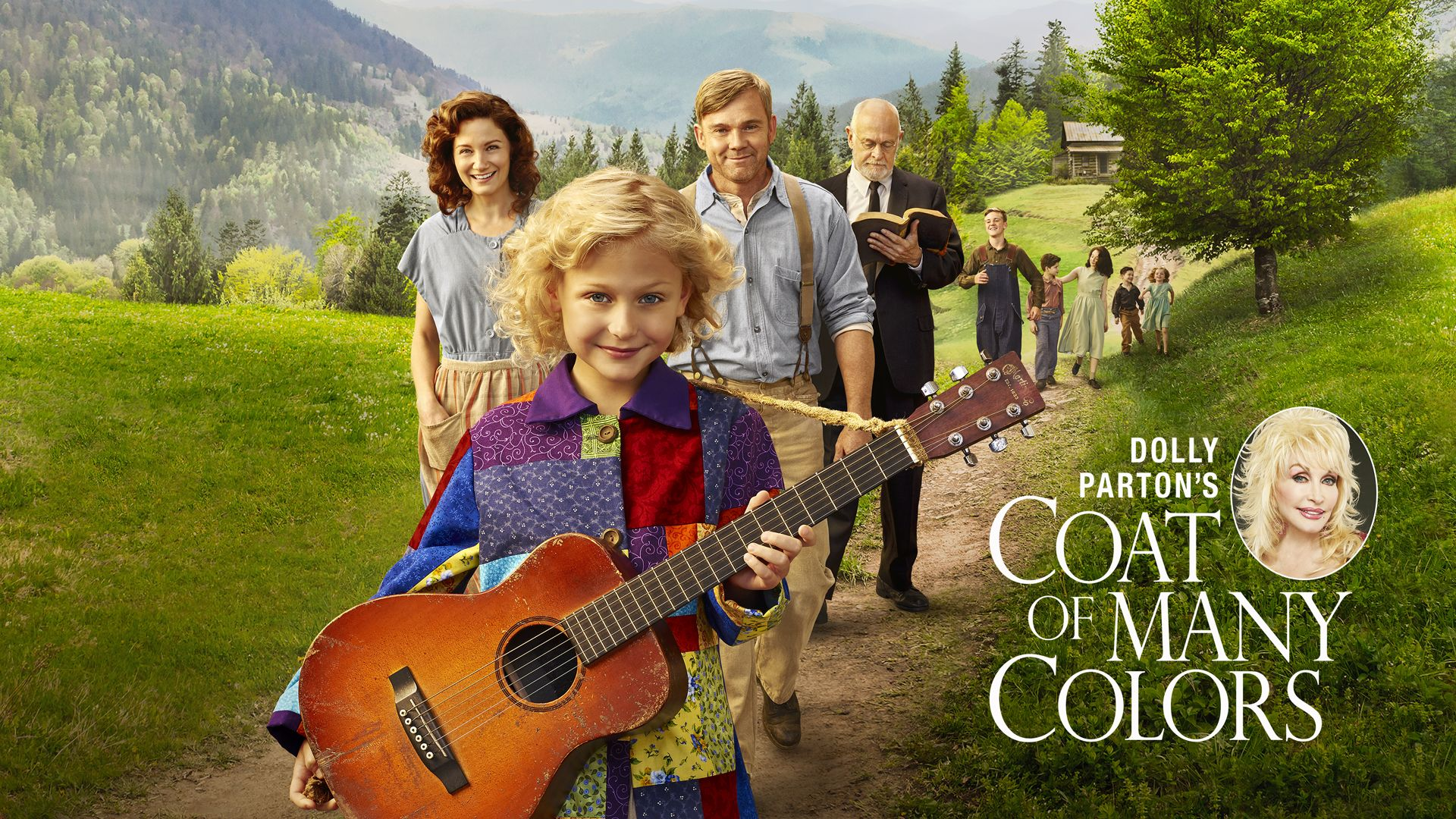 watch thurs dec 10 at alyvia alyn lind stars as young dolly parton in the inspiring true story based on her life coat of many colors - Dolly Parton Coat Of Many Colors Book