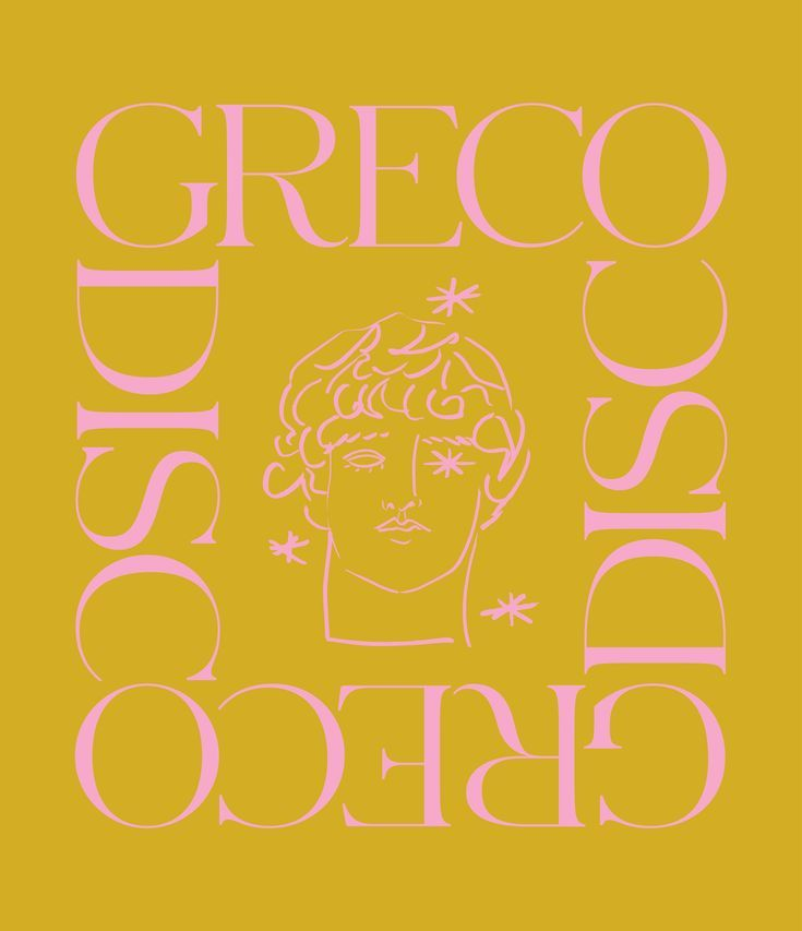Greco Disco Luke Edward Hall By Zan Inc Farver Plakater Billeder