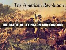The Battle of Lexington and Concord The British Army set out from ...