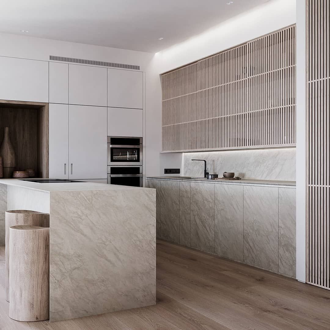 Natural Apartment Is Designed And Visualized By Nazar Tsymbaliuk