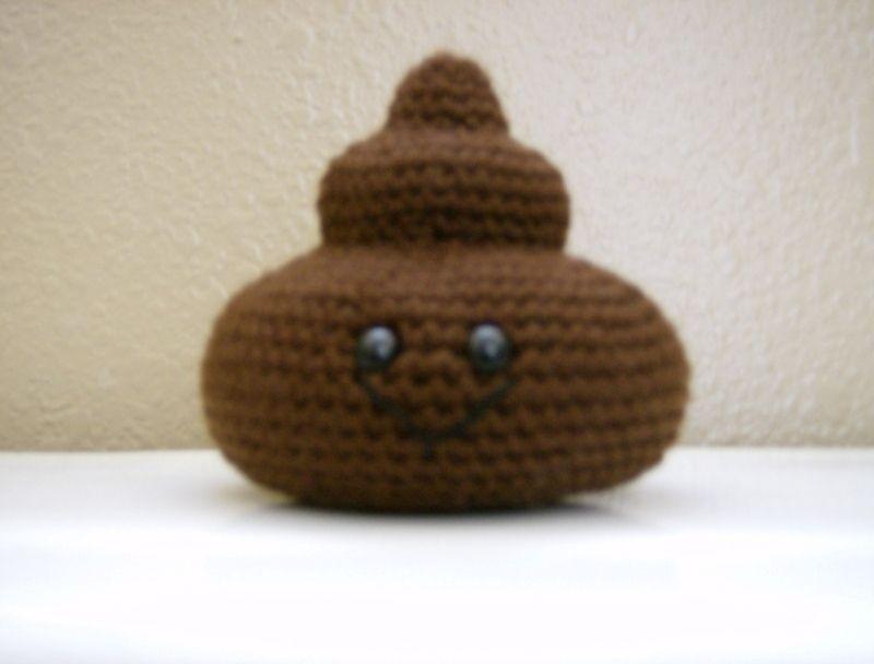 Free Amigurumi Disney Patterns : It's poop free crochet amigurumi and crochet