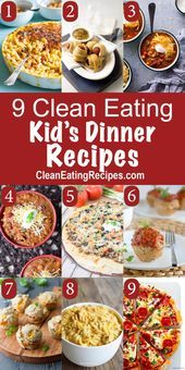 Clean Eating for Kids Recipes and Kids at Heart - My Natural Family,  #Clean #Eating #Family #Fitnes...