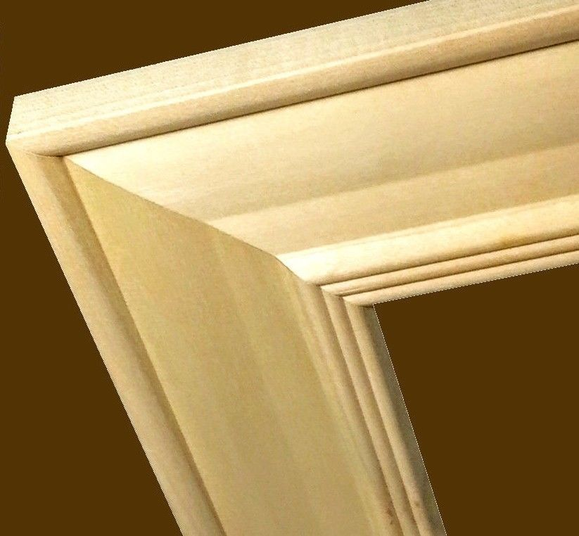 24 Ft Wide Unfinished Wood Raw Wood Picture Frame Moulding