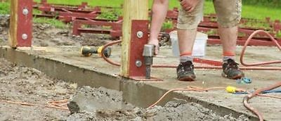 Details about Pole Barn surface mounting dry set post anchor Wood to