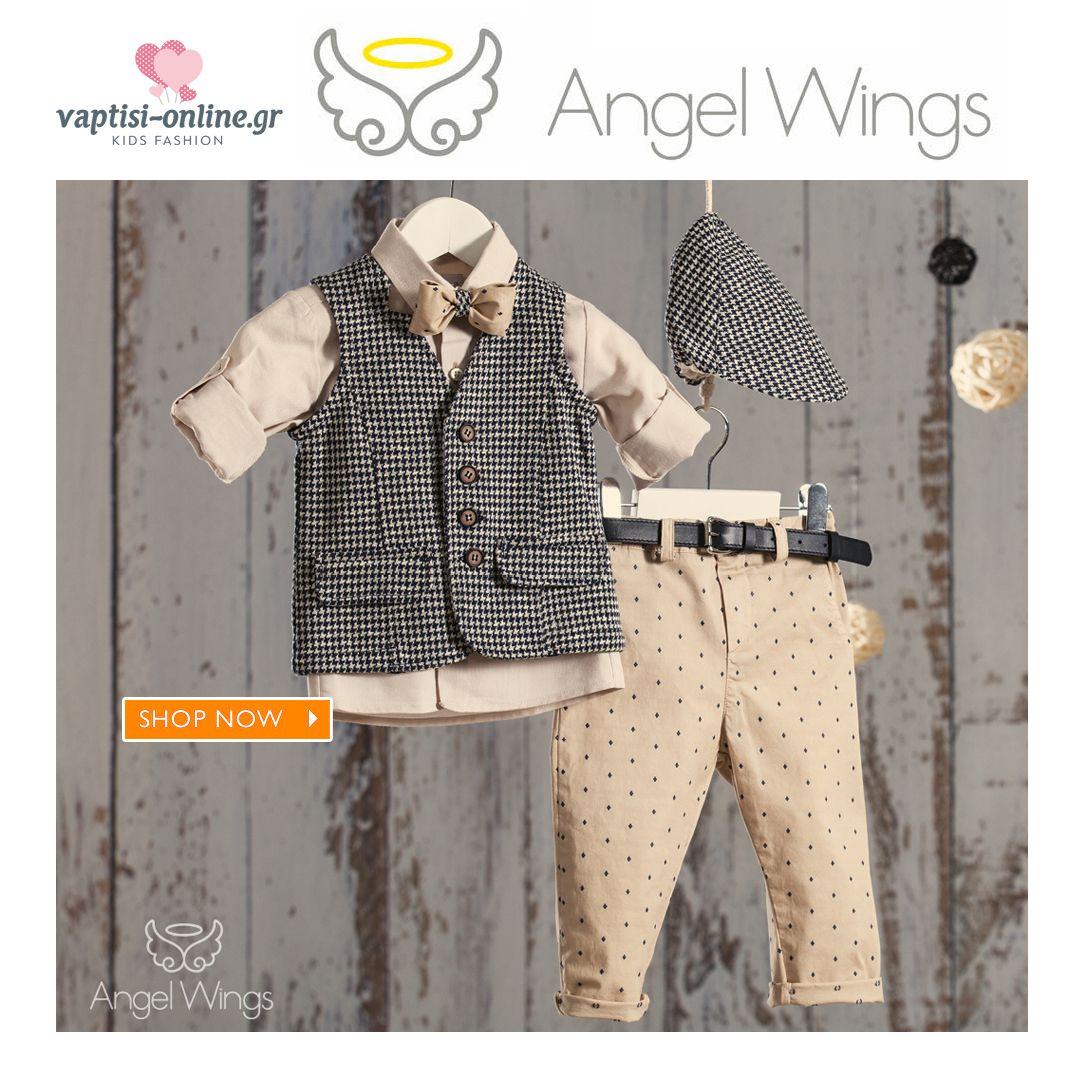 5855f1f46dd Δείτε την Συλλογή με Βαπτιστικά Angel Wings 2019 #Βαπτιστικά #AngelWings  #βαπτιση #vaptistika #βαφτιση #νονα #μαμα