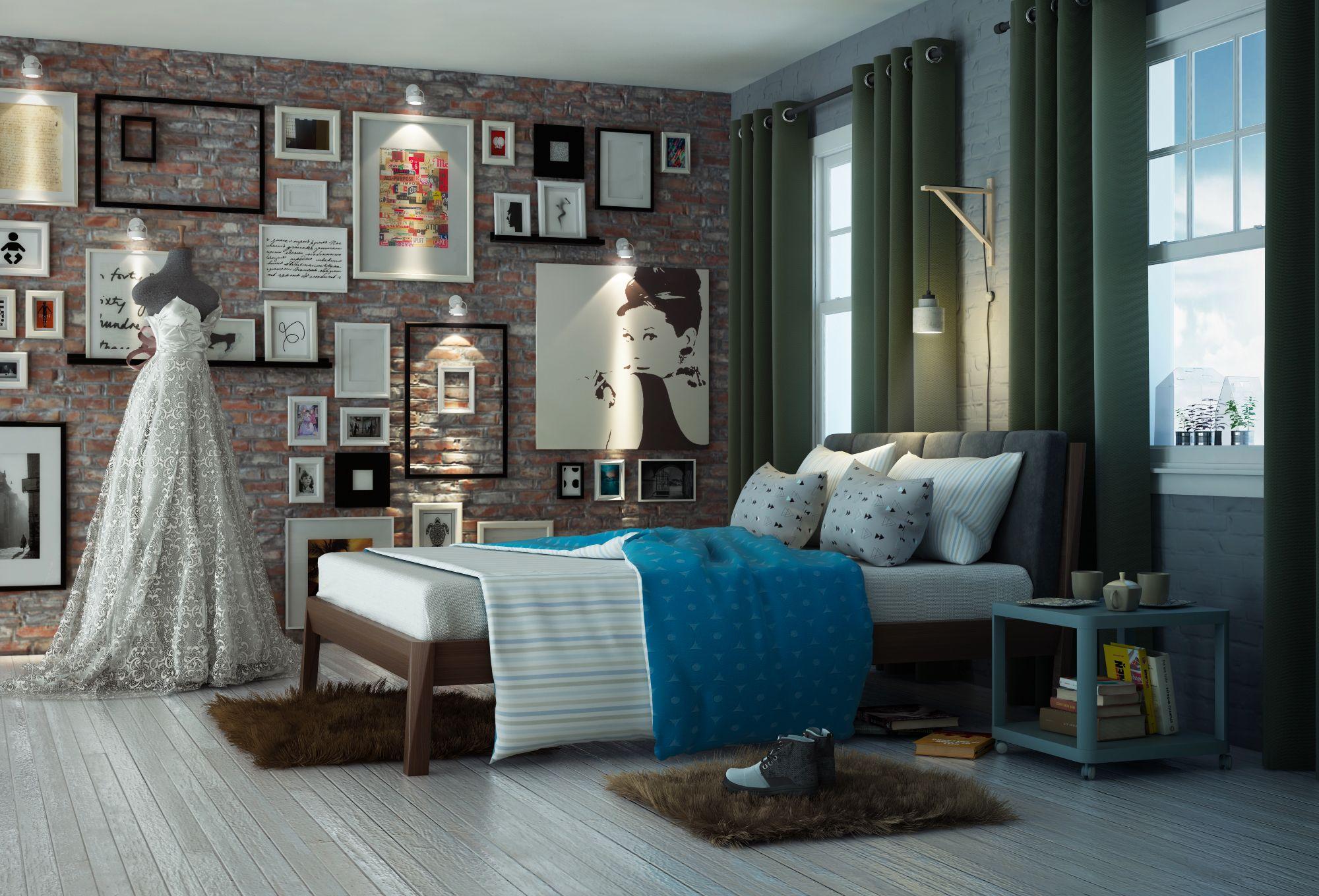 Arredare Casa 65 Mq progetto loft 65 mq. arredato ikea vista letto software