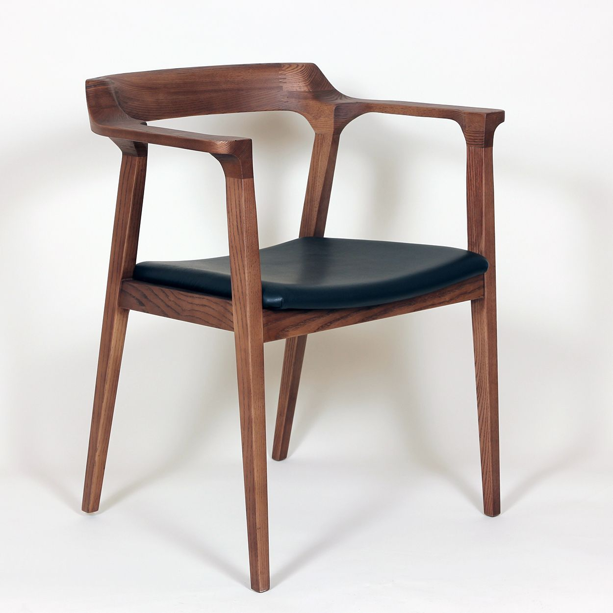 Modern wood chair with arms - The Djursholm Danish Modern Arm Chair Mid Century Modern Dining Chair Http