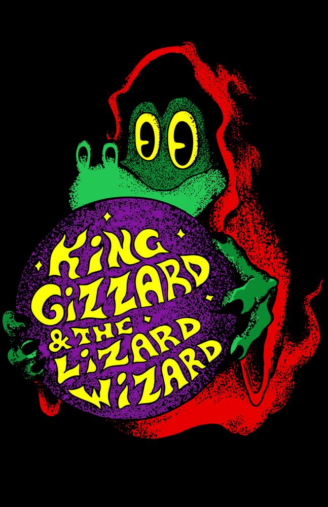 King Gizzard Lizard Wizard Gizzfest Sticker By Afaa 1 4 Af A Dege White 3 X3 Lizard Workout Tee Unisex Tank