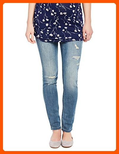 1c29ab6da20af Motherhood Indigo Blue Premium Secret Fit Belly Skinny Leg Maternity Jeans  - All about women (*Amazon Partner-Link)