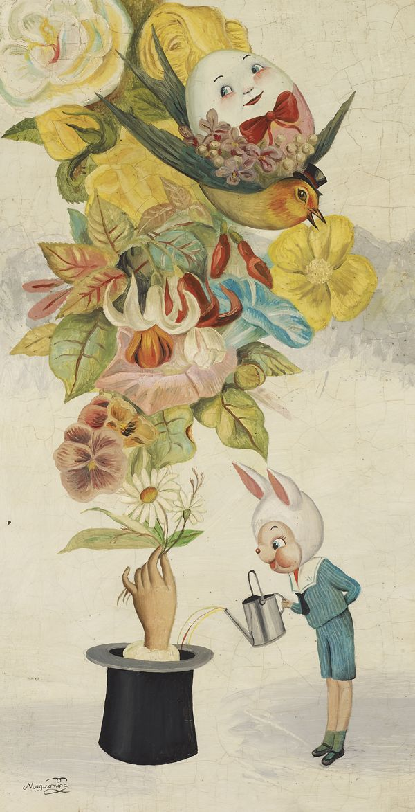 The Amazing Plant. Artwork by the very talented Sergio Mora, 2013. ArtisticMoods: posting on Facebook & Twitter.
