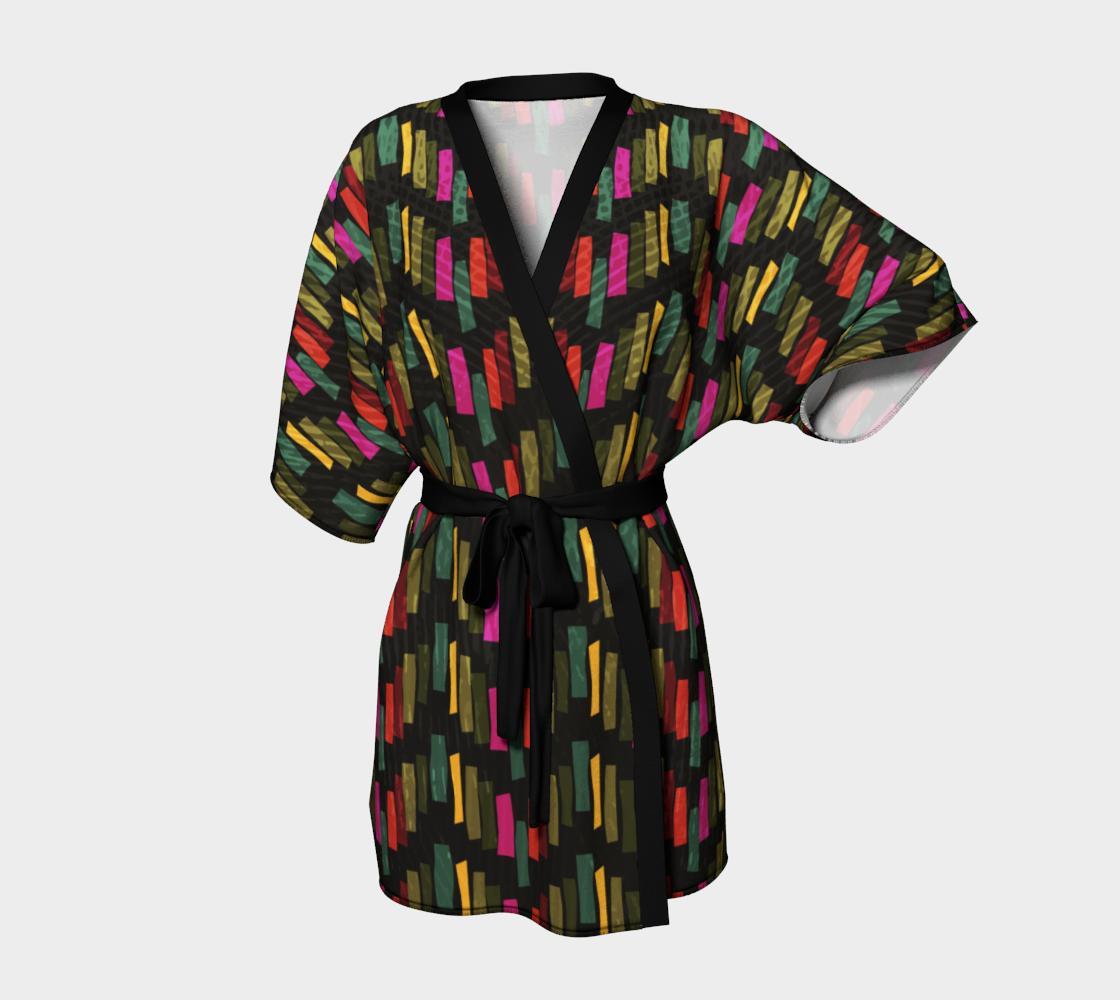 "Kimono+Robe+""Block+Chevron""+by+Aquamarine+Studio"