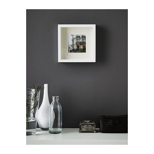 ikea ribba frame you can place the motif on the front or back of the extra deep frame art. Black Bedroom Furniture Sets. Home Design Ideas
