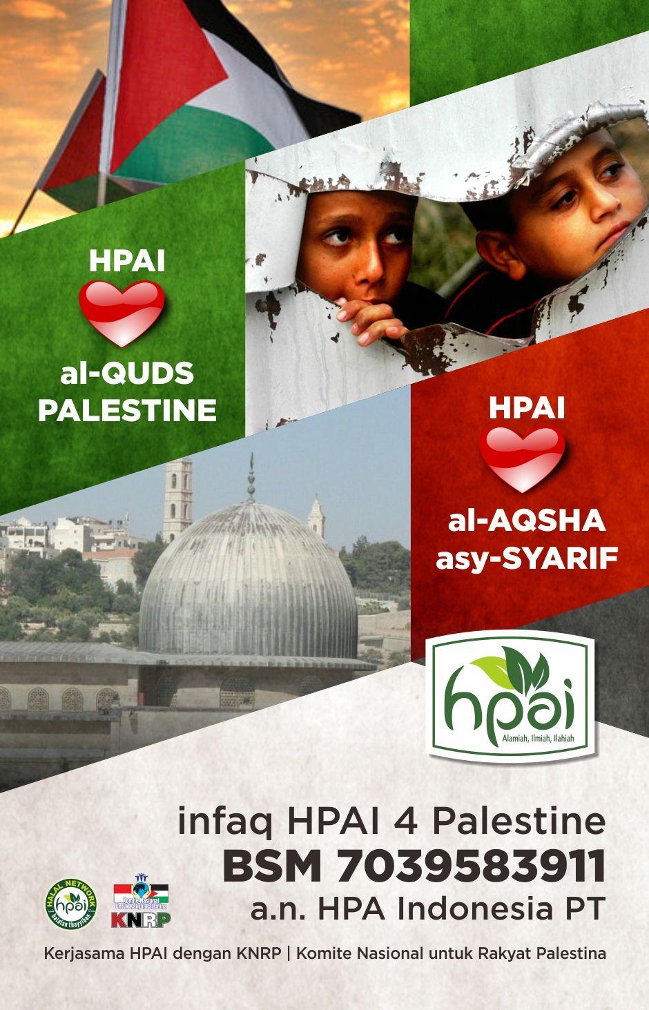 HPAI sahabat Palestina