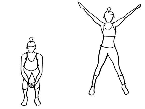 Jumping Jacks Diagram