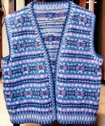 Fair Isle Vest Pattern | Patterns Gallery | Fair Isle and Multi ...