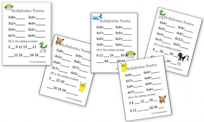 Download and print these #free math resources to help your