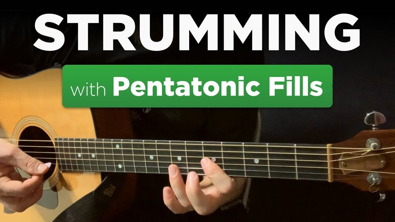 Mixing Pentatonic Licks W Strummed Chords In A Minor Warm Up 9 In 2021 Learn Guitar Guitar Lessons Tutorials Acoustic Guitar Lessons