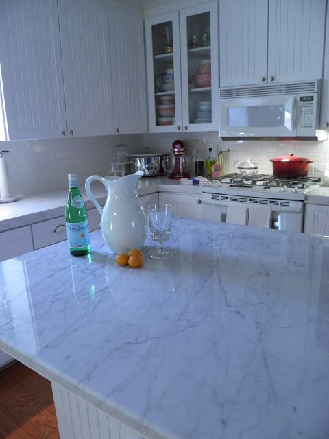 From Captain's Daughter to Army Mom: Granite Guru's, my white Carrara marble and Me!