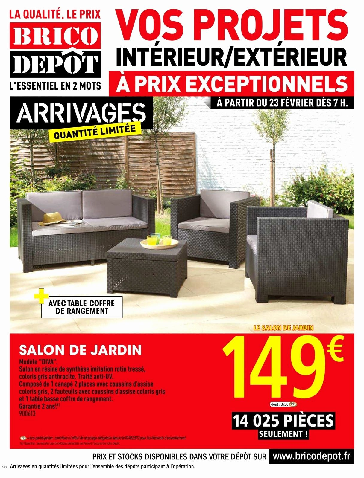 Elegant Barriere De Securite Brico Depot Salon De Jardin Salon
